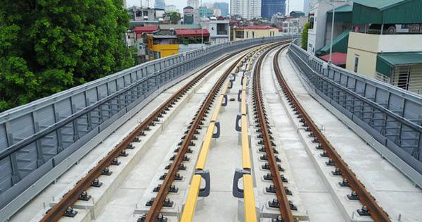 Hình ảnh dự án đường sắt Cát Linh – Hà Đông trước ngày chạy thử