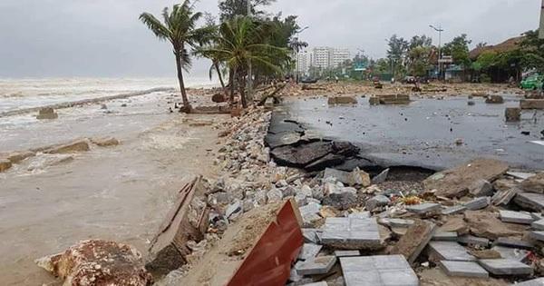 Bão không vào thẳng, Thanh Hóa vẫn thiệt hại 1.000 tỉ đồng