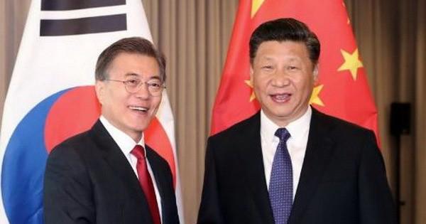 Hàn-Trung khẳng định nỗ lực phi hạt nhân hóa bán đảo Triều Tiên