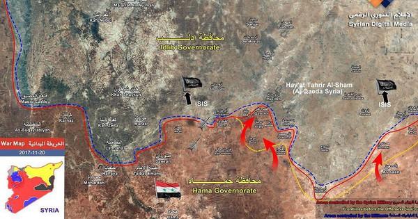 Chiến sự Syria: Quân Assad dồn dập đánh diệt phiến quân ở Hama, chiếm thêm 2 cứ địa