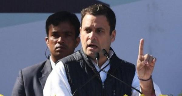 Ông Rahul Gandhi chính thức trở thành Chủ tịch đảng Quốc đại Ấn Độ