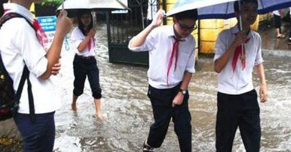 Toàn bộ học sinh, sinh viên ở Sài Gòn nghỉ học 2 ngày để tránh bão Tembin