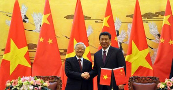 Thúc đẩy quan hệ Đối tác hợp tác chiến lược toàn diện Việt Nam – Trung Quốc