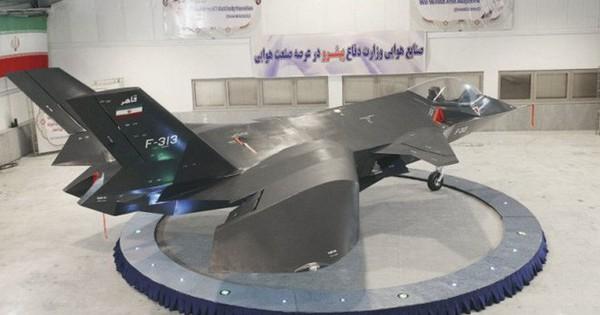 Iran bắt đầu thử nghiệm máy bay chiến đấu tàng hình Qaher