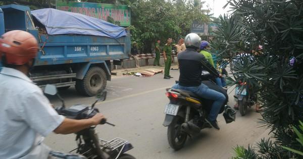 Cô gái ở Sài Gòn bị xe ben tông ngã rồi cán qua đầu tử vong thương tâm