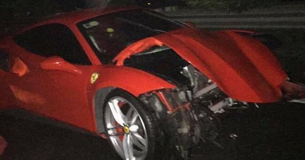 Siêu xe Ferrari 488 GTB mới gặp nạn của ca sĩ Tuấn Hưng giá trị đến thế nào?