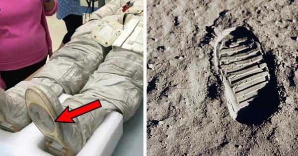 Sự thật dấu chân và nghi vấn Neil Armstrong không thực sự đặt chân lên Mặt trăng