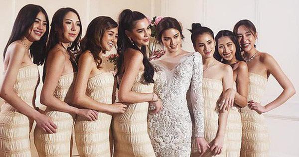 """Đám cưới Thái Lan gây sốt Instagram vì quy tụ dàn phù dâu """"cực phẩm"""""""