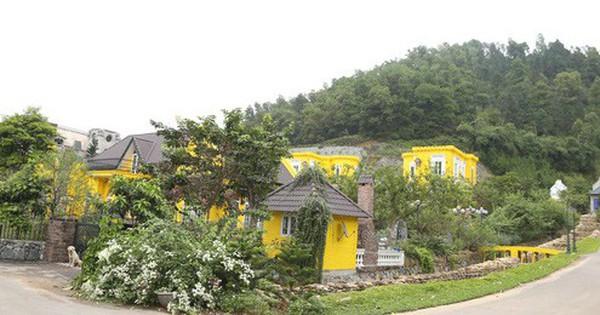 Choáng với những biệt thự sang trên đất rừng phòng hộ Sóc Sơn