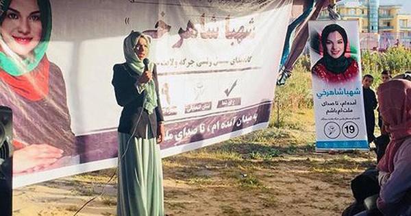 Cô gái 28 tuổi muốn tái định hình chính trị Afghanistan