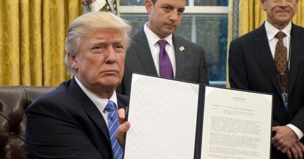 """Những hiệp định quốc tế lớn Mỹ đã """"nói lời chia tay"""""""
