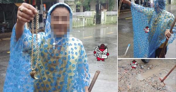 Người đàn ông nhặt được dây chuyền vàng thất lạc trong nước lũ ở Quảng Trị gây xôn xao