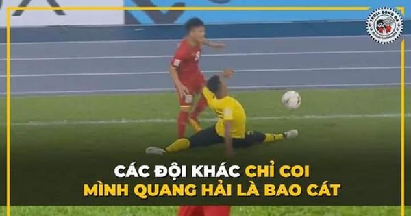 """Không chỉ Quang Hải, nhiều cầu thủ Việt Nam khác cũng thành """"bao cát"""" của ĐT Malaysia"""
