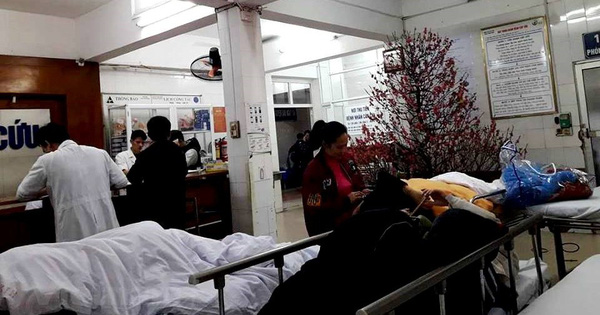 3 ngày nghỉ Tết, bệnh nhân cấp cứu gấp 5 lần ngày thường