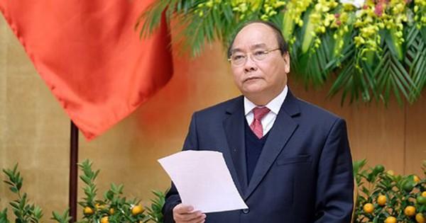 Thủ tướng yêu cầu không được lơ là, chủ quan từ kết quả tháng 1/2018