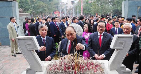 Thủ tướng Nguyễn Xuân Phúc dự lễ hội kỷ niệm 229 năm chiến thắng Ngọc Hồi – Đống Đa