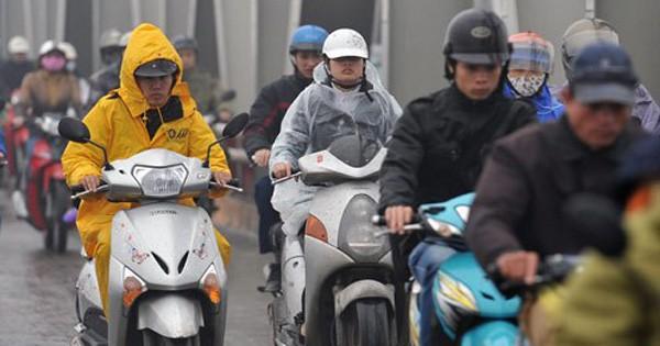 Thời tiết 21/2/2018: Bắc Bộ chuẩn bị đón gió mùa, trời mưa rét