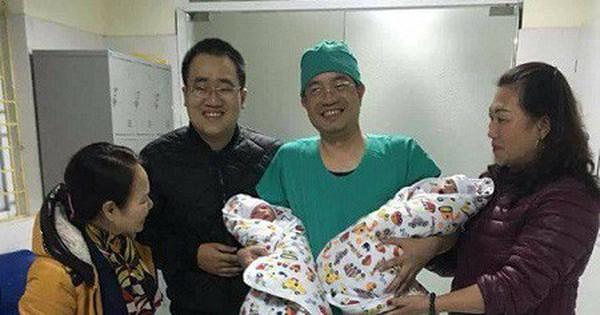 2 bé trai sinh đôi đầu tiên nhờ thụ tinh ống nghiệm IVF tại Quảng Ninh