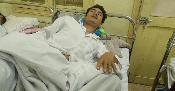Người nhà bệnh nhân bị bảo vệ Bệnh viện K hành hung nhập viện