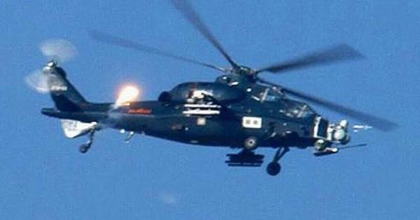 Ảnh: Máy bay trực thăng tấn công sát thủ Z-10 của Trung Quốc