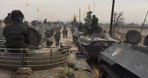 """Hezbollah Li Băng rút quân khỏi Syria: Kinh nghiệm """"đầy mình"""" với tăng T-90, pháo TOS-1A"""