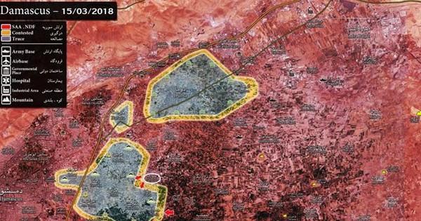 """""""Hổ Syria"""" đập tan quân thánh chiến phản công ở tử địa Đông Ghouta"""