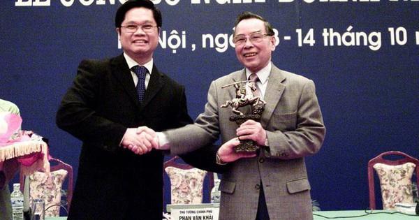 Chủ tịch VCCI Vũ Tiến Lộc: Cố Thủ tướng Phan Văn Khải – người trả lại tên cho cộng đồng doanh nhân Việt