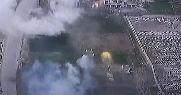 Cận cảnh quân tinh nhuệ Syria hủy diệt thánh chiến trong tử địa Đông Ghouta