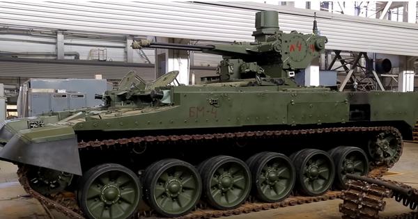 """Nga """"chốt"""" cấu hình sản xuất hàng loạt cho xe chiến đấu hỗ trợ tăng BMPT"""