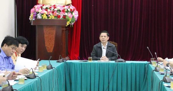 Bộ trưởng GTVT: Tập trung ngăn chặn sự cố đường sắt