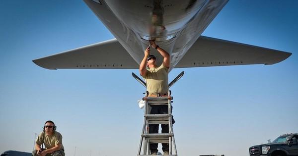 Hình ảnh ấn tượng về lực lượng không quân hùng mạnh của Mỹ