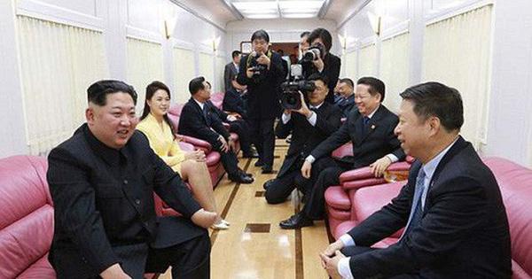 Nội thất xa hoa trong con tàu của ông Kim Jong-un