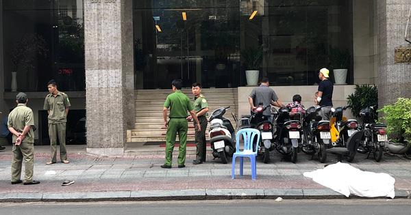 Người đàn ông ngoại quốc rơi từ tầng cao khách sạn ở Sài Gòn