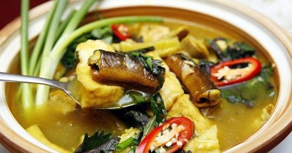 Món ăn – bài thuốc từ lươn