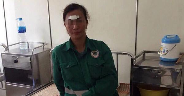 Nữ công nhân vệ sinh môi trường bị 5 người hành hung nhập viện
