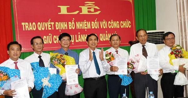 Nhân sự mới Đồng Nai, Bình Dương, Quảng Ninh, Bến Tre