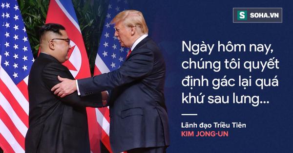 """""""Cơn mưa"""" lời ca ngợi nguyên thủ Mỹ – Triều dành cho nhau"""