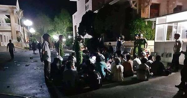 Bình Thuận bắt giữ nghi can đưa tiền đi quấy rối