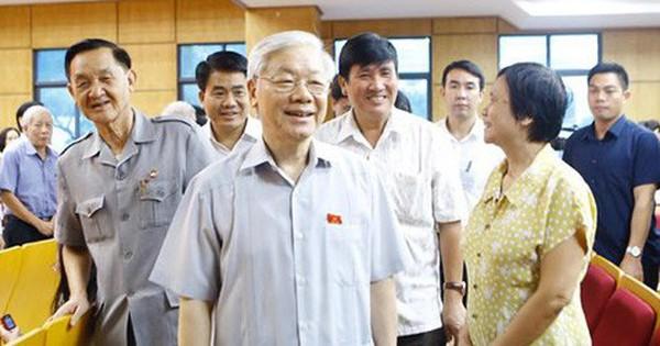 Hôm nay, Tổng Bí thư Nguyễn Phú Trọng tiếp xúc cử tri tại 3 quận Hà Nội