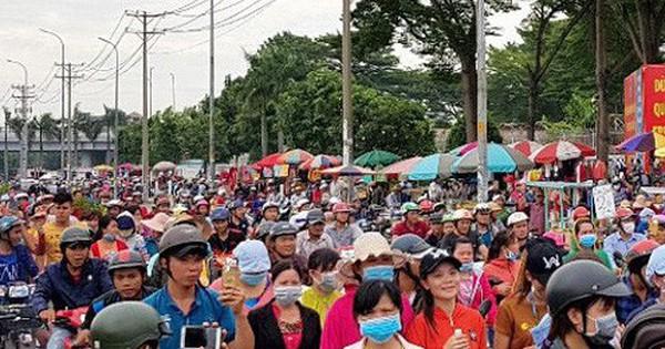 TP HCM không để công nhân bị kích động tham gia tụ tập, gây rối 