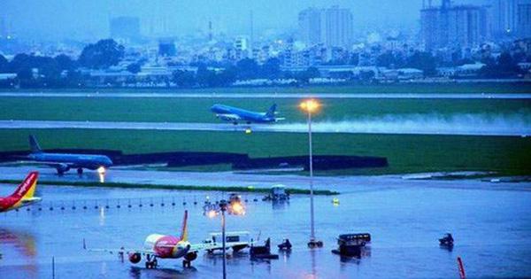 Sân bay Tân Sơn Nhất vẫn đứng trước nguy cơ ngập nước 