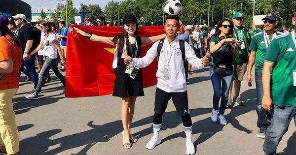"""Á khôi Ngọc Nữ """"chơi lớn"""" khi sang hẳn Nga để xem World Cup 2018"""
