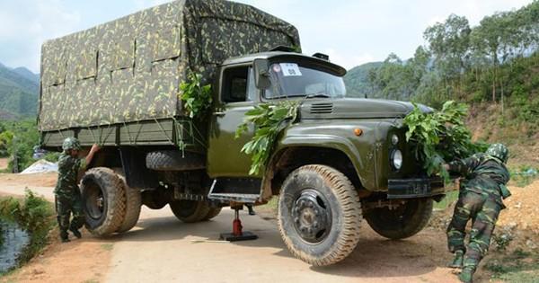 Sáng kiến chuyển hướng xe ô tô rất hữu dụng khi tác chiến ở địa hình rừng núi, đèo dốc