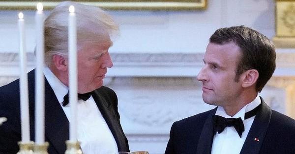Ông Trump đề nghị ông Macron rút Pháp khỏi EU