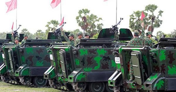 Quân khu 9 thử nghiệm bắn đạn thật và nghiệm thu vũ khí trang bị mới