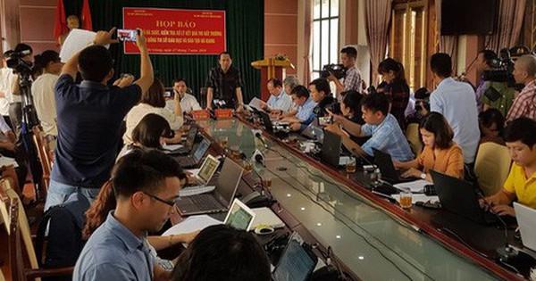 Thành lập 2 đoàn công tác xác minh kết quả thi tại Sơn La, Lạng Sơn