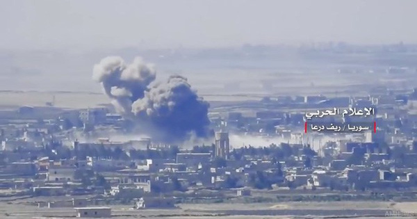 """""""Hổ Syria"""" xốc tới nghiền nát thánh chiến, chiếm liên tiếp 3 thị trấn ở Daraa"""