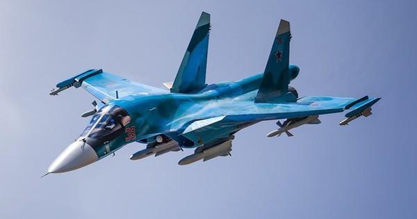 """Lý do tiêm kích – ném bom Su-34 được mệnh danh """"xe tăng bay"""""""
