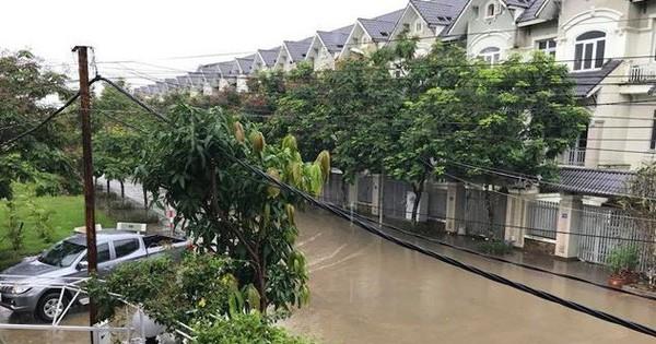 Làng biệt thự triệu đô Hà Nội chìm trong biển nước  Địa ốc