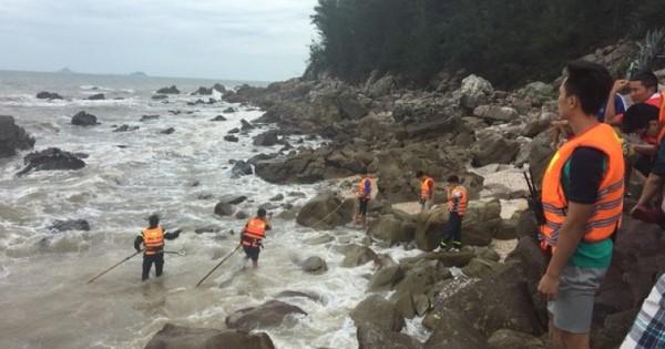 2 du khách Hà Nội chết và mất tích sau khi tắm biển ở Thanh Hóa